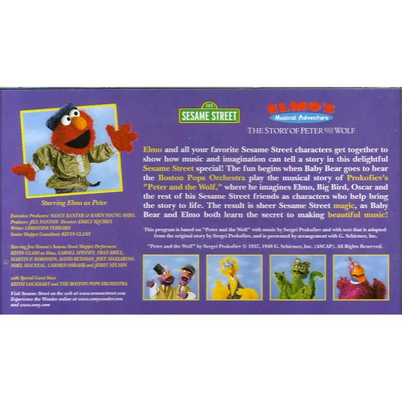 SESAME STREET Elmo's Learning Adventure {The ABCs of Cookies} #38 LN