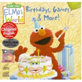 Sesame Street - Elmo's World - Birthday, Games & More! (VCD)
