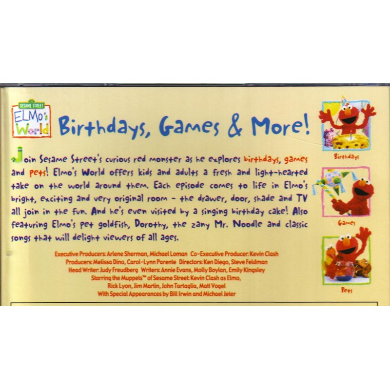 Birthday, Games & More! (VCD
