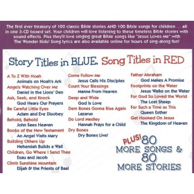 100 Bible Songs & One Hundred Bible Stories (3-CD Set)