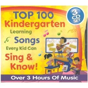 Top 100 Kindergarten (3-CD Set)