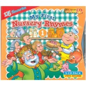My First Nursery Rhymes 1 (5-CD Pack)