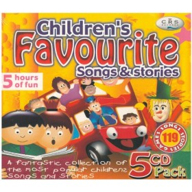 Children's Favourite Songs & Stories (5-CD Pack)