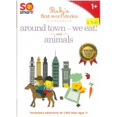 So Smart! Vol 8 - Baby's First-word Stories - Around Town, We Eat! and Animals