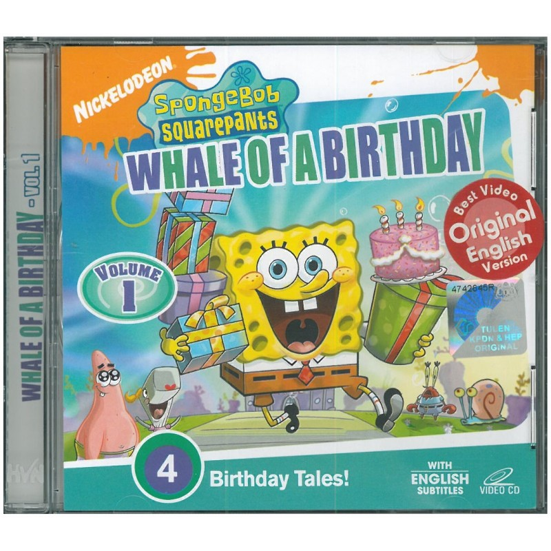 Whale Of A Birthday (Vol. 1) (VCD