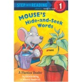 Step into Reading-phonics - Mouse's Hide-and-Seek Words (A Phonics Reader)