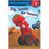 Step into Reading - Dig, Scoop, Ka-boom! (Sticker Book!)