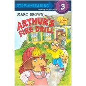 Step into Reading - Marc Brown - Arthur's Fire Drill (Sticker Book!)