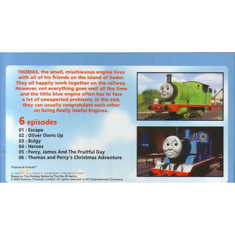 Thomas & Friends Vol  13 (VCD)